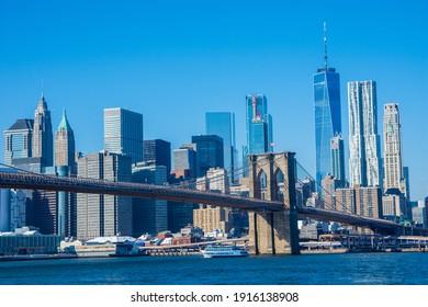 Brooklyn Bridge in NYC (Brooklyn Side)