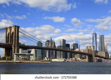 Brooklyn Bridge and Brooklyn Bridge Park