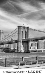 Brooklyn Bridge from Brooklyn promenade.
