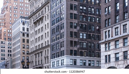 Brooklyn downtown buildings , USA