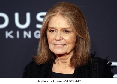 Brooklyn, New York; December 7th, 2014;  Gloria Steinem arrives to the premiere of Exodus: Gods and Kings at the Brooklyn Museum.