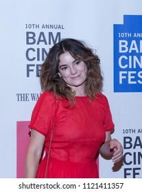 Brooklyn, New York, USA - June 25, 2018: Special Screening of Debra Granik's movie LEAVE NO TRACE at Harvey theater: Jamie Neumann on Red Carpet