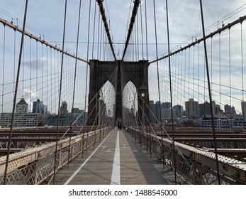 Brooklyn / NY / EUA 01212019 Brooklyn Bridge