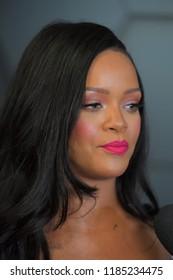 BROOKLYN, NY - SEPTEMBER 14: Rihanna attends Fenty Beauty's 1-year anniversary at Sephora inside JCPenney on September 14, 2018 in Brooklyn, New York.