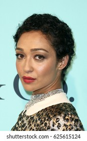 BROOKLYN, NY-APR 21: Actress Ruth Negga attends the Tiffany & Co. 2017 Blue Book Collection Gala at St. Ann's Warehouse on April 21, 2017 in Brooklyn, New York.