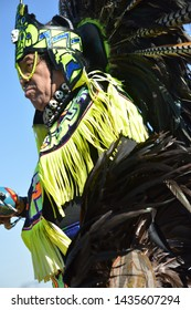 Brooksville, Florida / USA February 7, 2016: Native American Festival