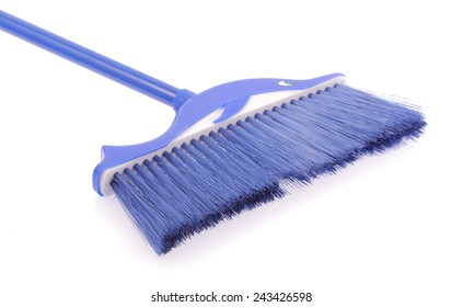 broom Isolated on a white background