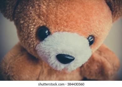 Brown bear doll vintage.