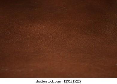 Brown beautiful leather texture closeup