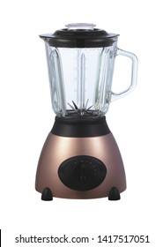 brown blender on white background