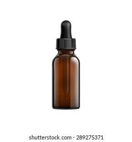 Brown Bottle Eye Dropper