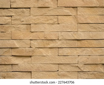 Brown bricks wall background.