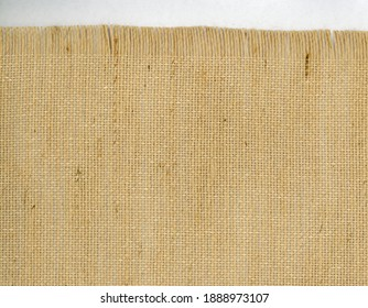 brown burlap hessian texture useful as a background