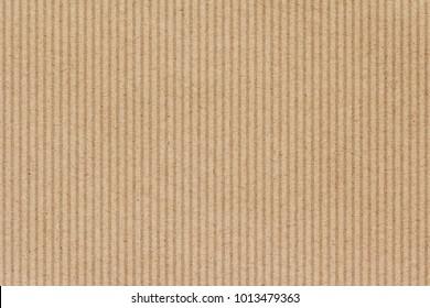 Brown cardboard corrugated background