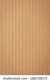 brown cardboard paper of carton corrugated texture background