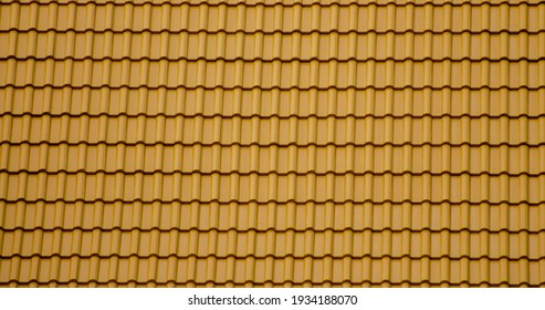 Brown Ceramic Kite Tiles for House Building.