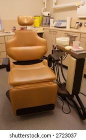 Brown Chair in Dental Surgery