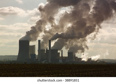 Brown coal dismantling, power stations