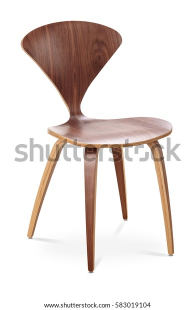 Brown Color Chair Wooden Classic Chair Stock Photo (Edit Now ...
