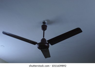 Ceiling fan blades images stock photos vectors shutterstock brown colored ceiling fan with 3 blades aloadofball Gallery