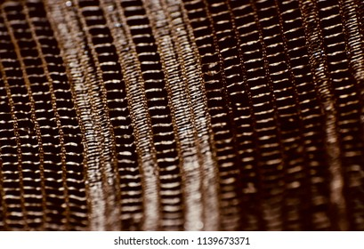 Brown coloured blurry textile design isolated unique background photo