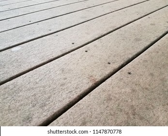 brown composite deck wood