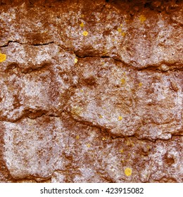 Brown concrete wall abstract background