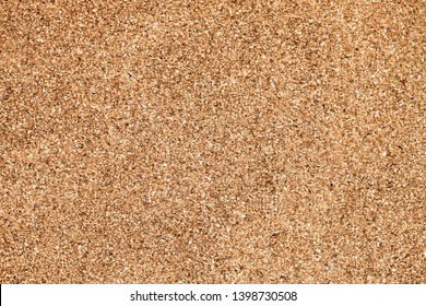 Brown cork board flat texture. Empty copy space noticeboard backdrop for graphic design.