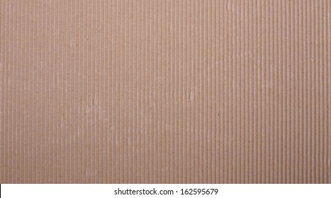 Brown corrugated carboard useful as a background