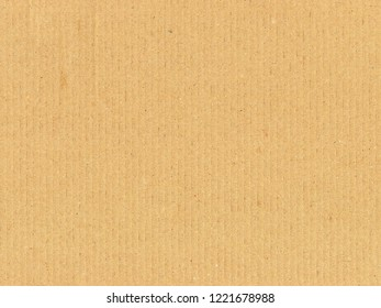 Brown corrugated cardboard useful as a background, soft pastel colour