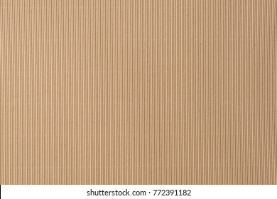 Brown Corrugated paper is empty ,Abstract cardboard background