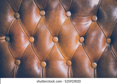 Brown couch leather background