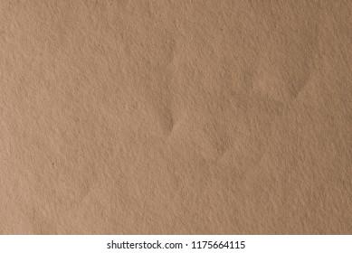 Brown craft paper cardboard texture.