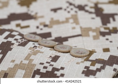 brown digital  military camo