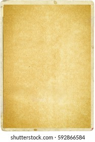 brown empty old vintage paper background. Paper texture