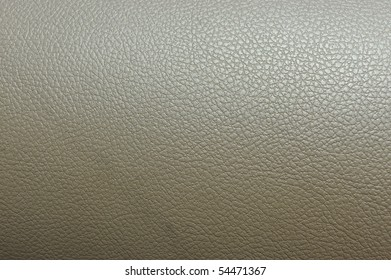 Brown fake leather