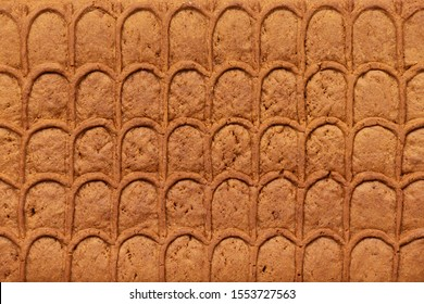 Brown gingerbread texture. Christmas cooking. Christmas or New Year celebration concept.