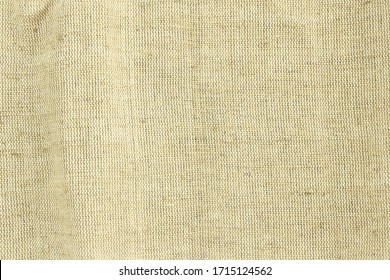 Brown green linen fabric cotton for wallpaper design. Brown weave cotton background texture.