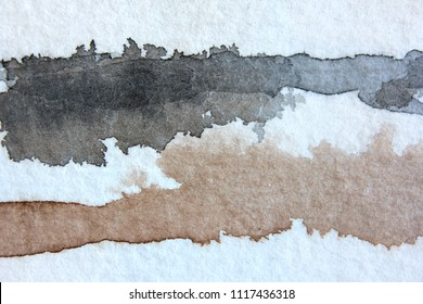Brown Grey and Black Watercolor Background