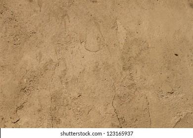 Brown ground texture.