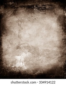 Brown Grunge Abstract Texture Background