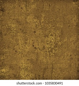 Brown grunge background. Dirty texture with scratches and cracks, fading. Vintage pattern old surface