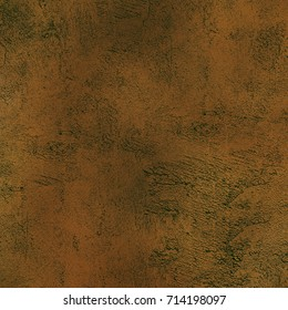 Brown grunge background. Texture old wall with cracks and fading. Vintage texture to create your own design