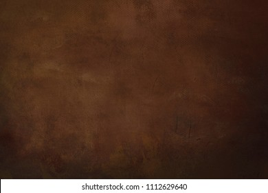 brown grungy painting background
