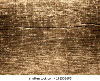 Brown grungy wood for background or texture