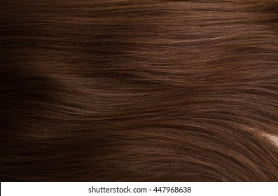 Brown hair. Textures, background