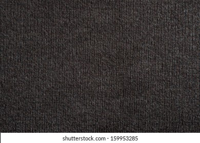 Brown knitting wool texture background.