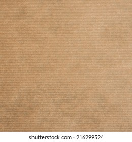 brown kraft paper texture or backgroun, square format