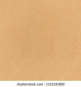 Brown kraft paper texture horizontal striped seamless pattern for packaging or gift wrapping. Kraft paper texture background.