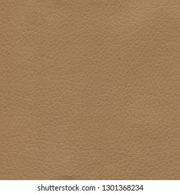 Brown leather background. Background for designers and composing collages. Textured genuine leather of high quality.